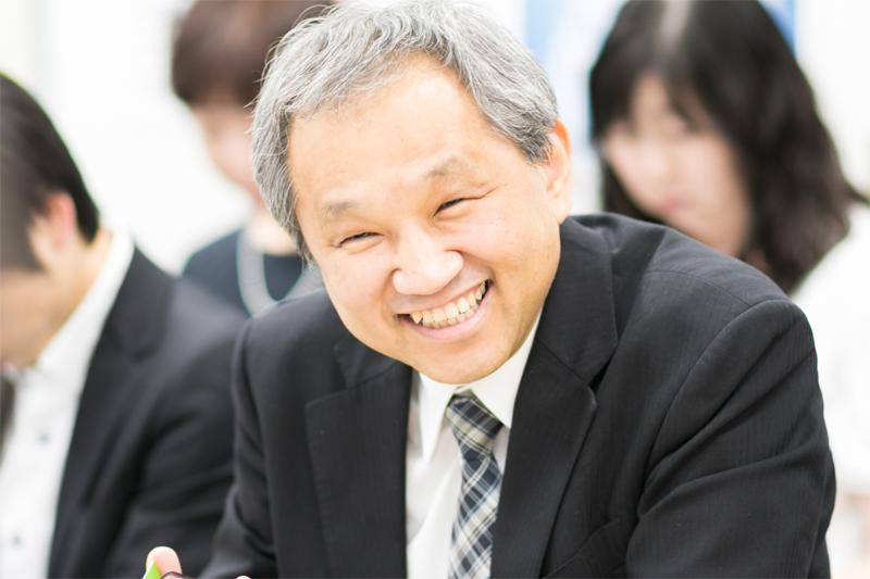 渡辺さんの笑顔